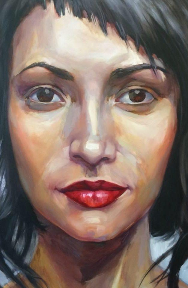 Portrait Painting Oil 2014