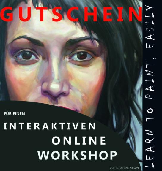 Gutschein online workshop