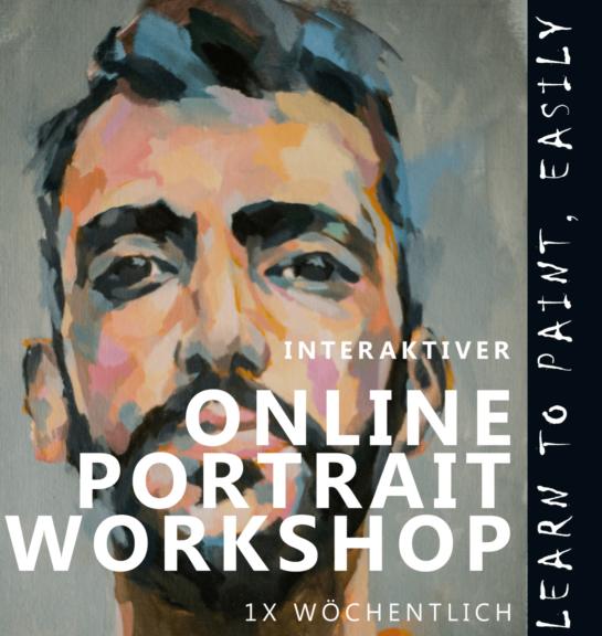 INTERAKTIVER ONLINE MAL-WORKSHOP-PORTRAIT