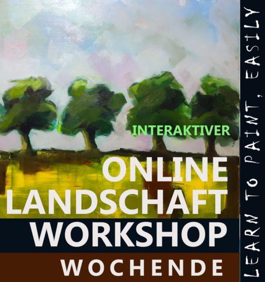 Interaktiver Landschafts Workshop Wochenende