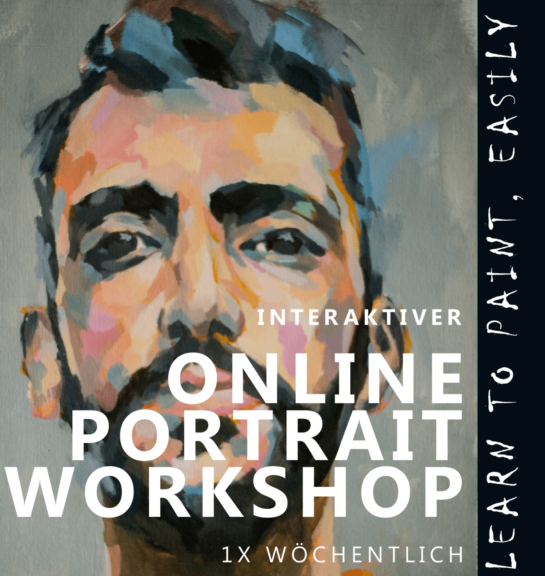 INTERAKTIVER ONLINE MAL-WORKSHOP-PORTRAIT