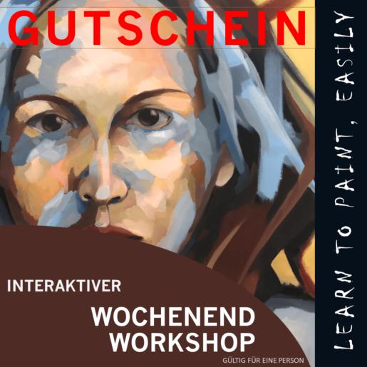 GUTSCHEIN WOCHENEND-ONLINE WORKSHOP